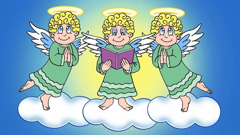 imagem de anjo para desenho