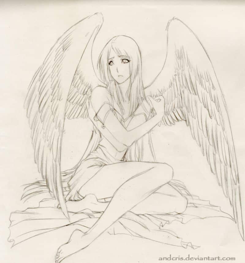 imagem de anjo bonita