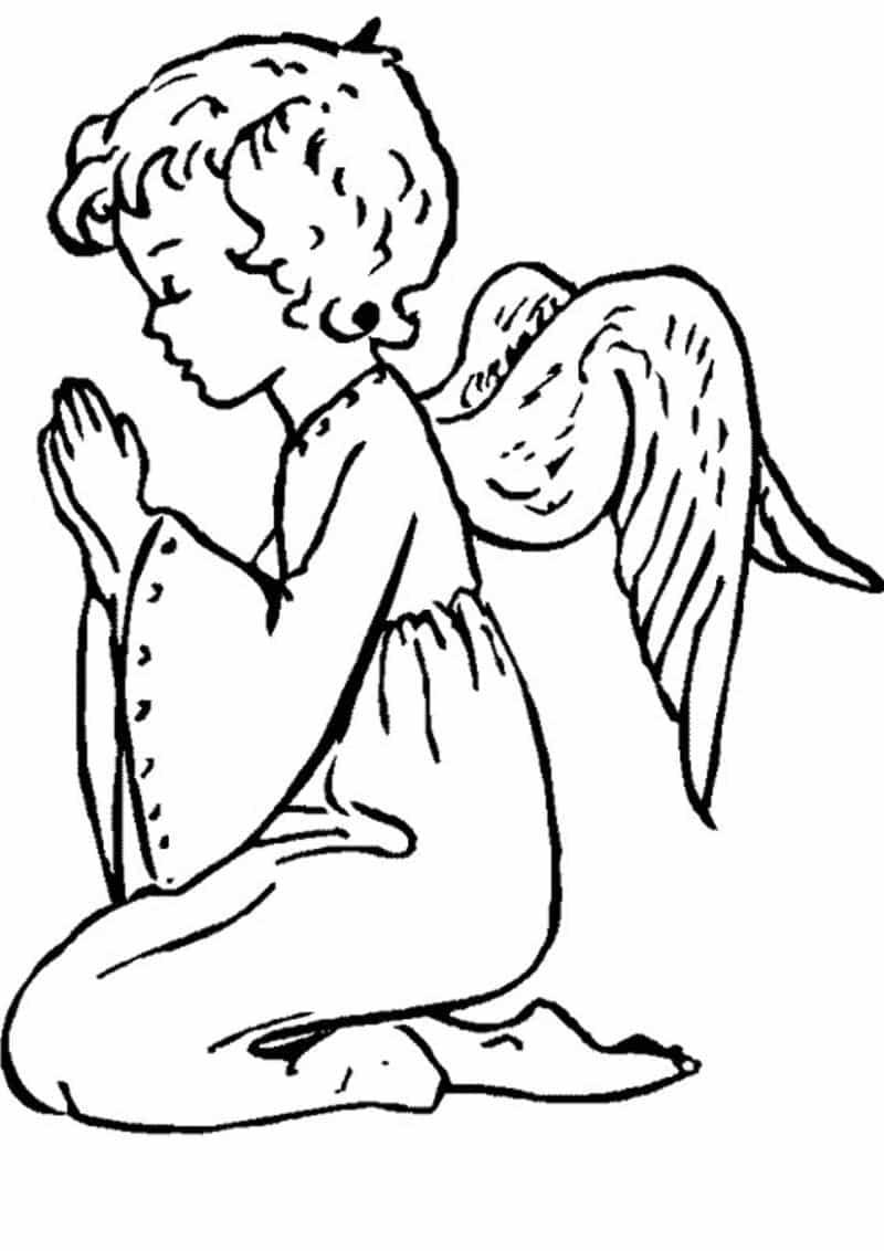 imagem de anjo simples