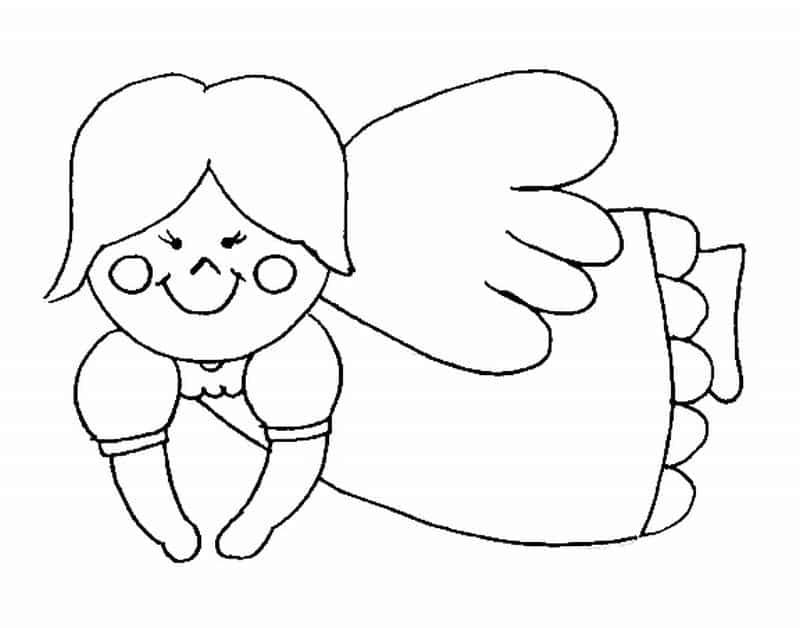 imagem de anjo linda