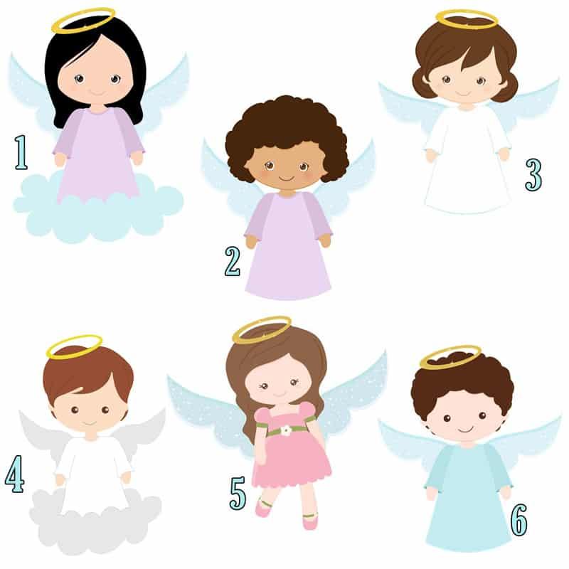 topper de anjo
