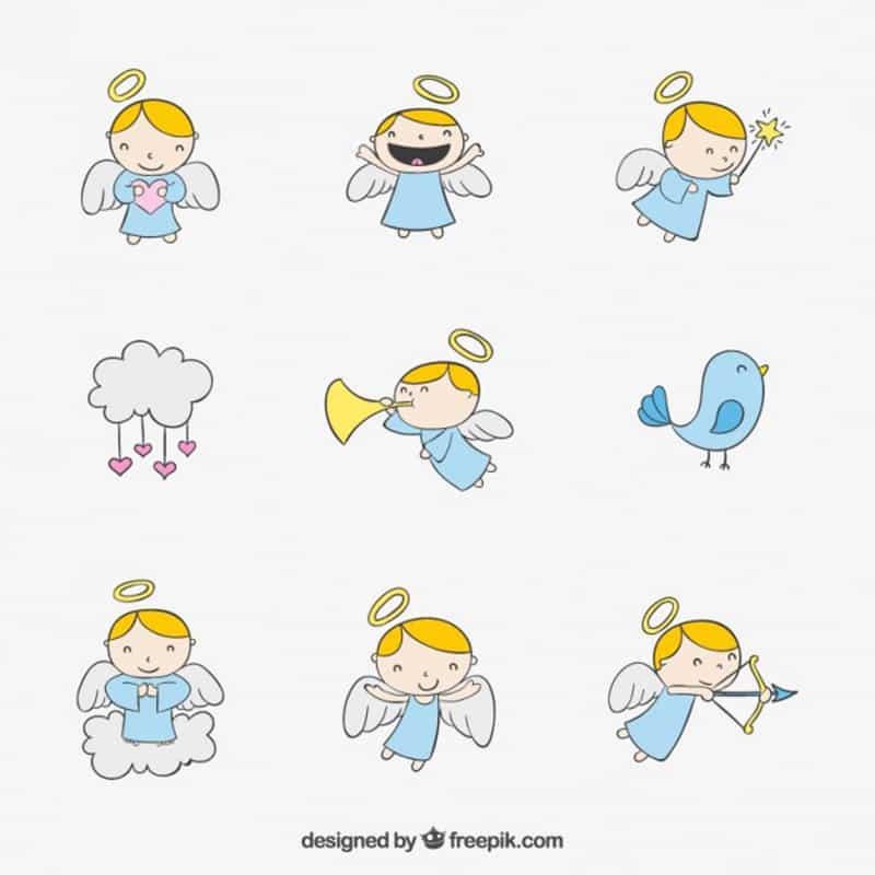 imagem de anjo fofos