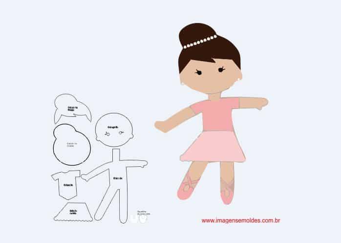 boneca eva bailarina