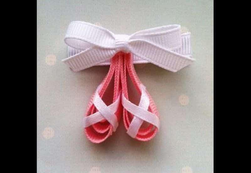lacinho infantil bailarina