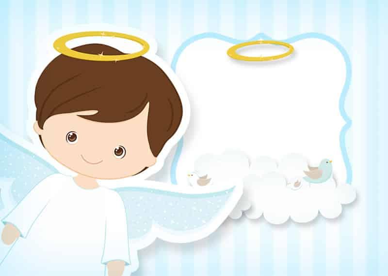 imagem de anjo festa