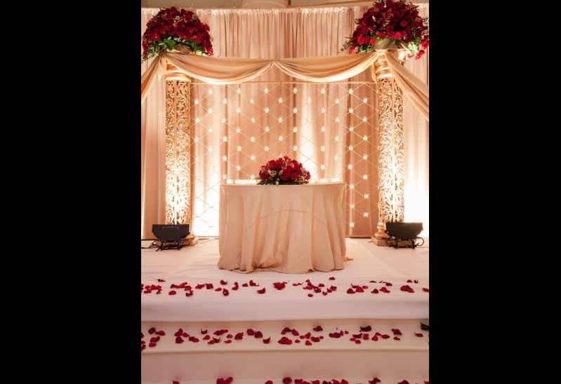decor de casamento altar