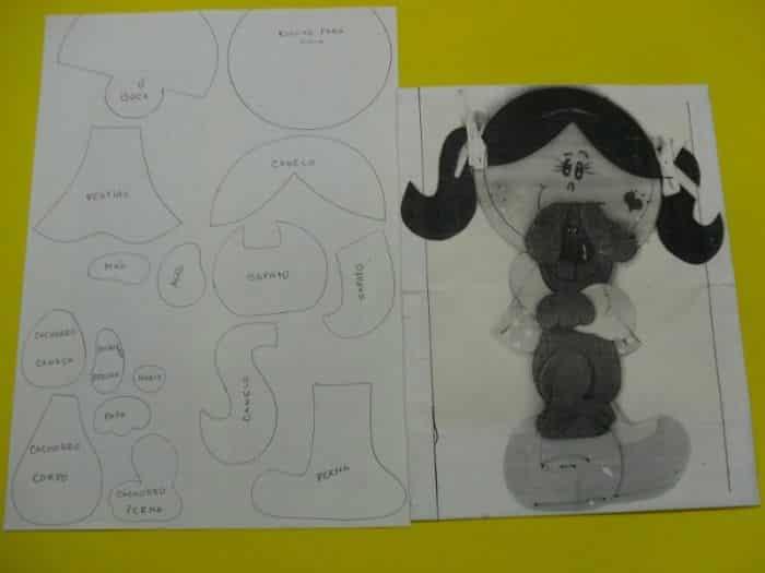 boneca eva rabinho
