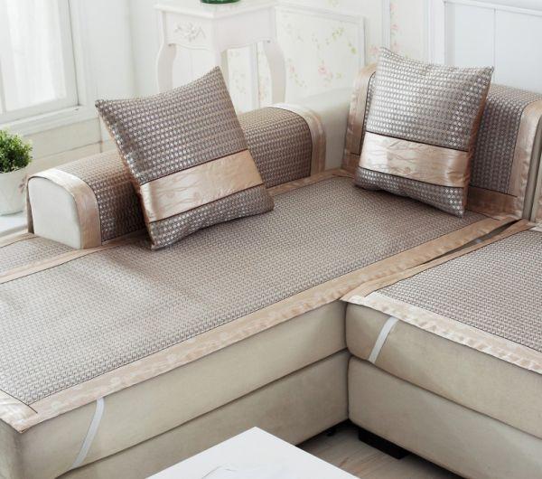capa de sofa de seda