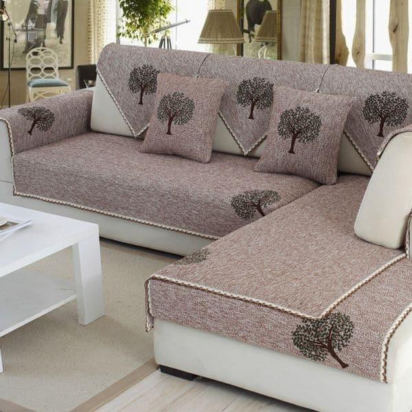 capa de sofa com desenho