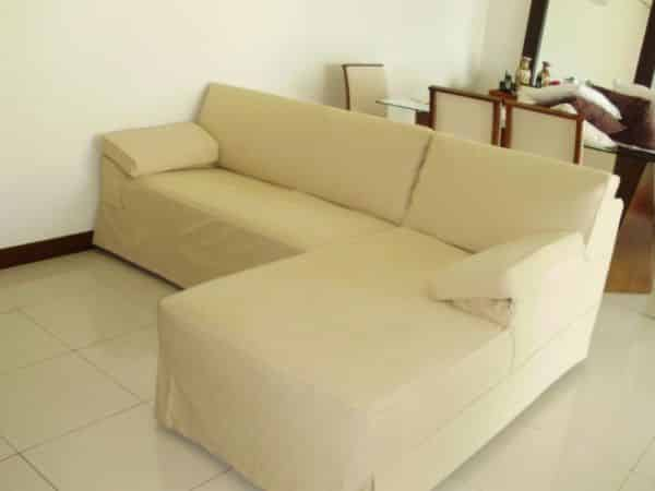 capa de sofa simples