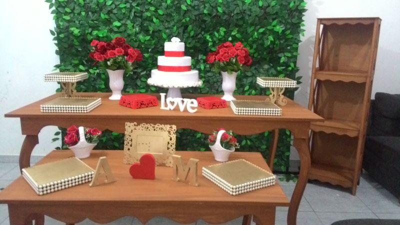 decor de casamento romantica