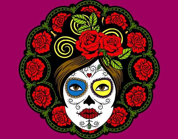 Desenho De Caveira Mexicana: 30 Modelos