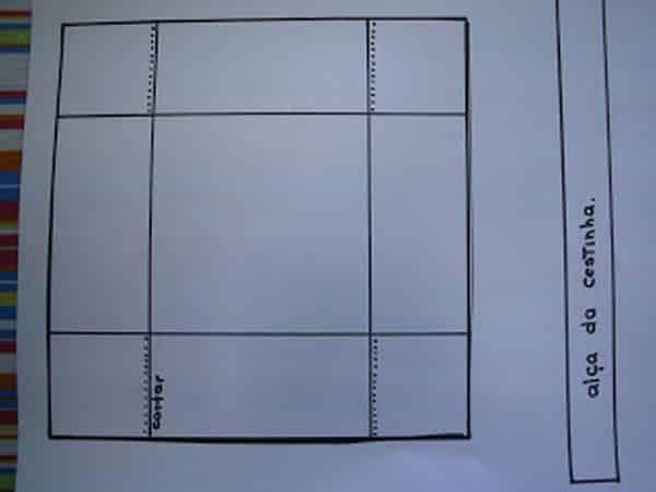 molde quadrada