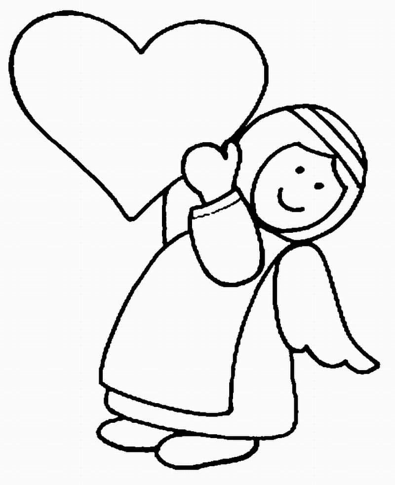 imagem de anjo coração