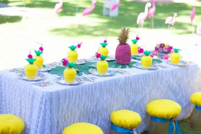 mesa abacaxi
