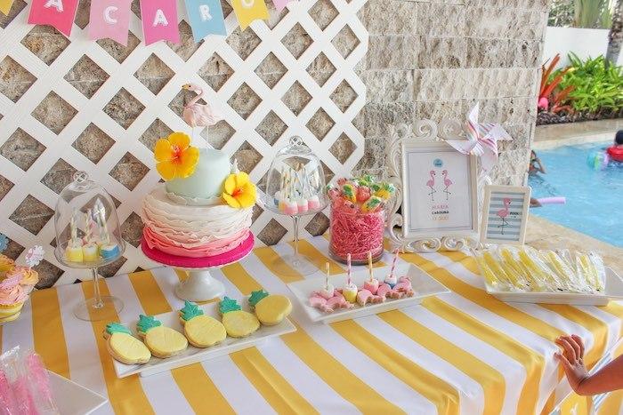 Decoraç u00e3o Festa do Flamingo e Abacaxi Artesanato Passo a Passo!