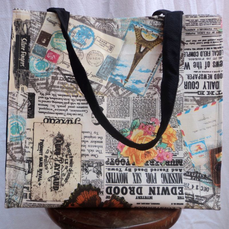 sacolinha de caixa de leite jornal