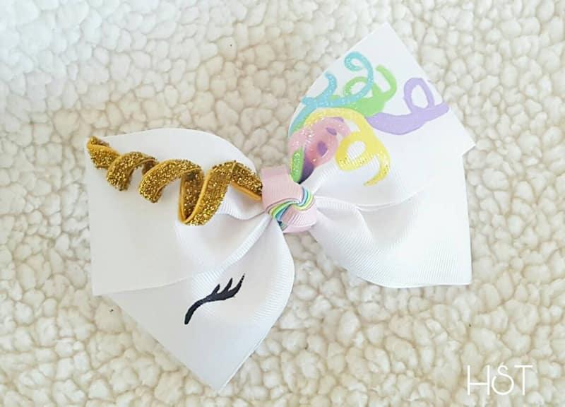 lacinho infantil unicornio