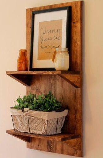 prateleira de cozinha madeira