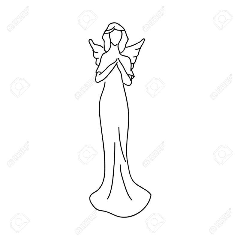 imagem de anjo clean