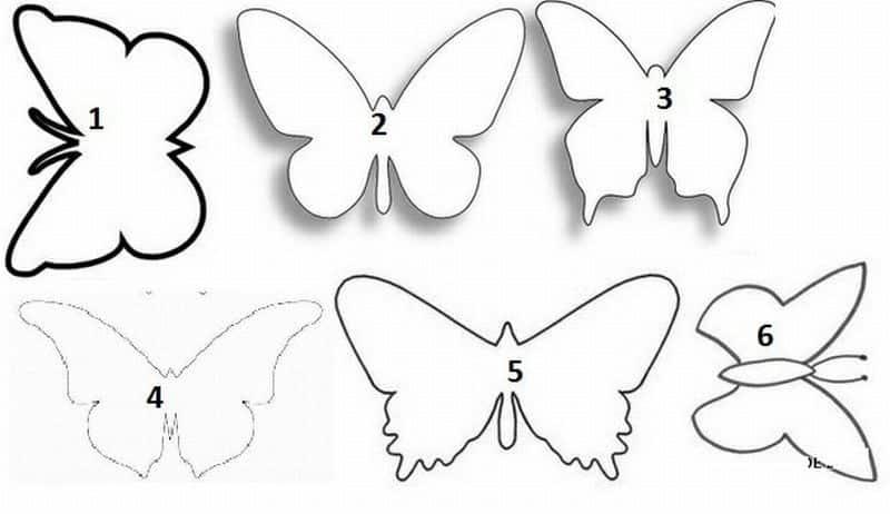 porta pano de prato eva borboleta molde