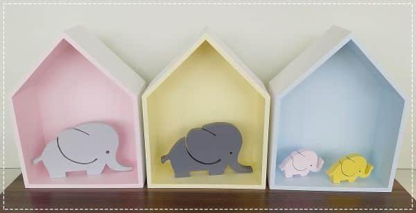 nicho decorado bebes