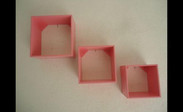 nicho decorado rosa