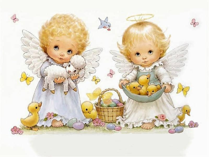 imagem de anjo batizado