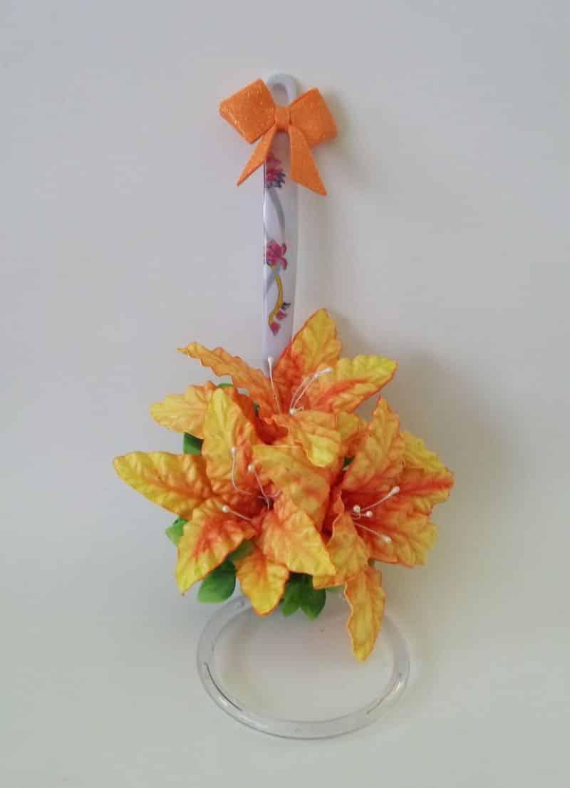 porta pano de prato eva flores