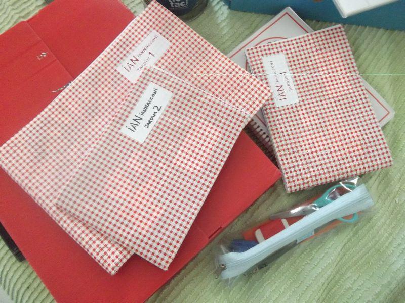 caderno decorado plastico
