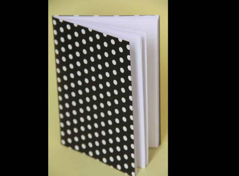 caderno decorado contact