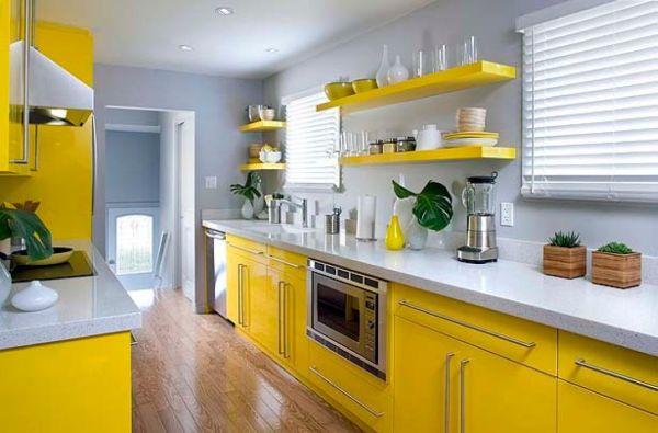 prateleira de cozinha inusitada