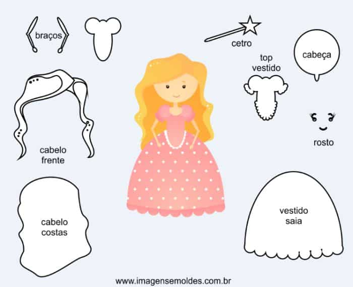boneca eva princesa