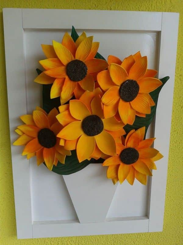 quadrinho de flor