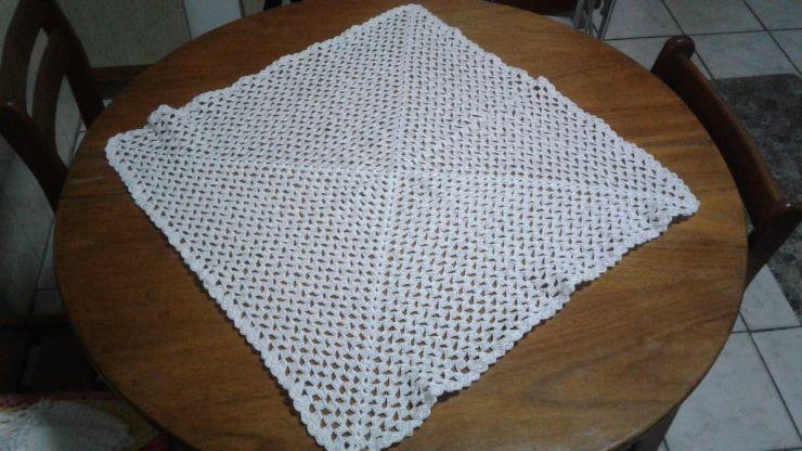 toalha croche quadrada