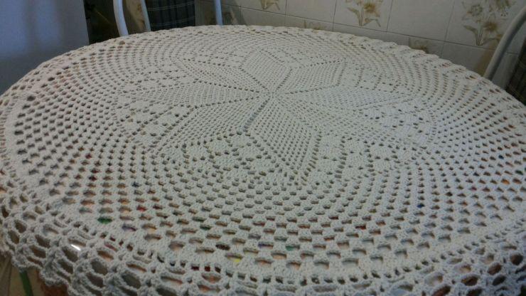 toalha croche bege