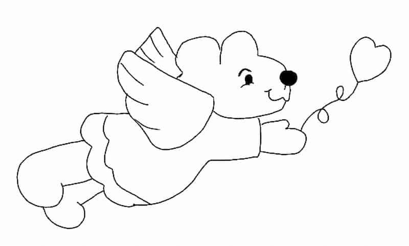 imagem de anjo ursa