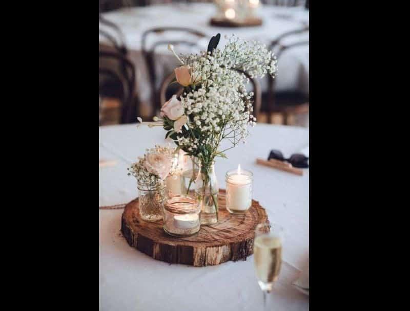 decor de casamento arranjo