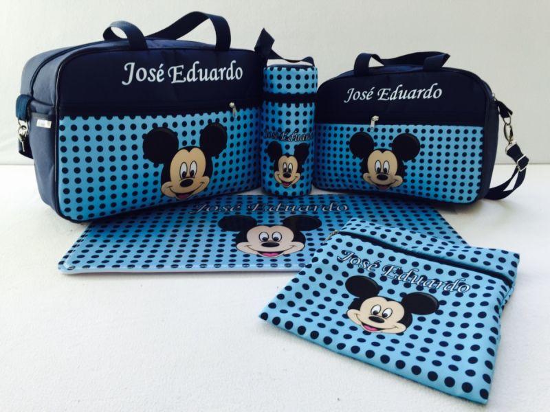 016b9f23a6 Bolsa de Bebê Personalizada Artesanal  25 Ideias Legais - Artesanato ...