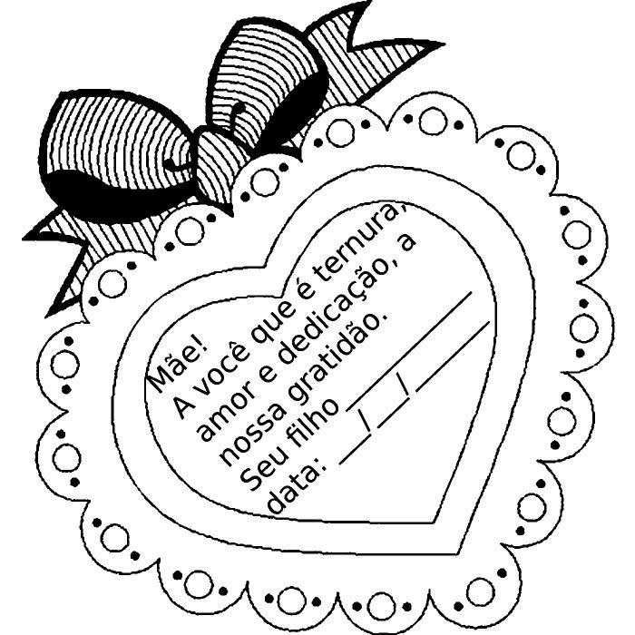 Cartão Dia Das Mães Artesanal 30 Modelos Artesanato Passo