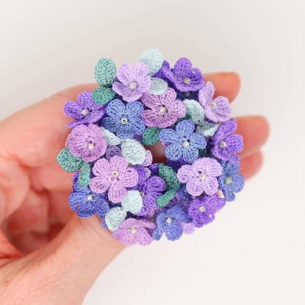 florzinha de crochê