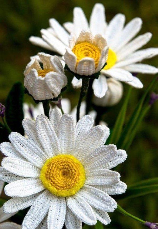 flor de croche amor perfeito