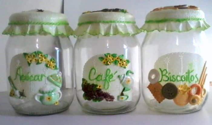 Adesivo De Geladeira Rio De Janeiro ~ Como Reciclar Vidros de Azeitonas 30 Ideias Artesanato Passo a Passo!