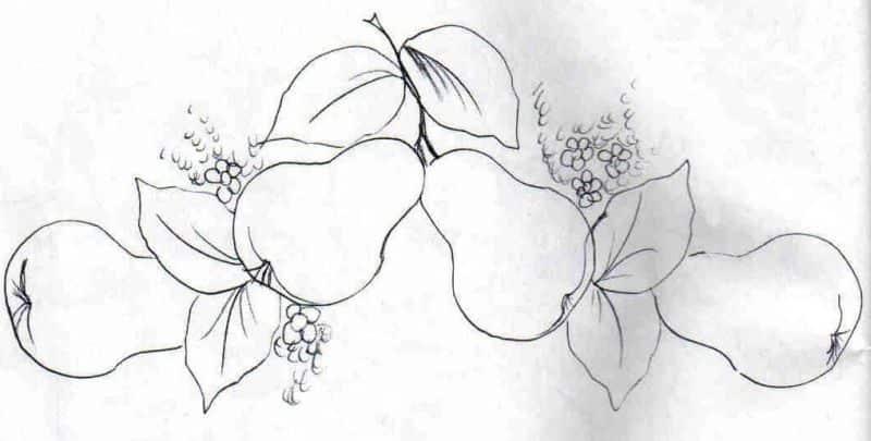 Desenhos Para Pintura Em Tecido Para Imprimir 30 Imagens