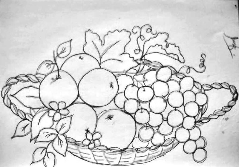 Desenhos Para Pintura Em Tecido Para Imprimir: 30 Imagens