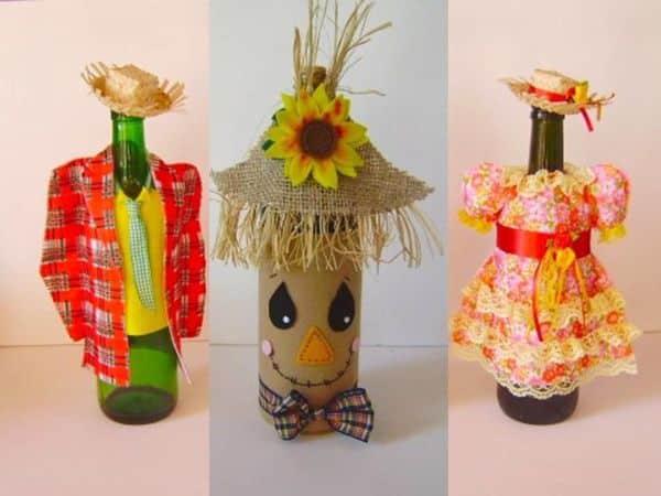 Decoraç u00e3o de Festa Junina com Material Reciclável Artesanato Passo a Passo! -> Decoração De São João Com Material Reciclado