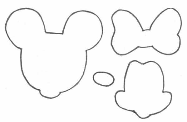 Molde Da Minnie 30 Imagens Para Imprimir Artesanato Passo A Passo