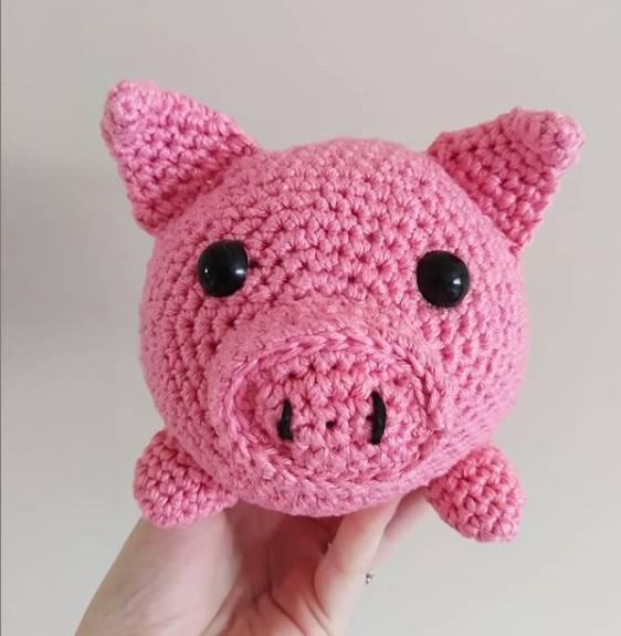 peso de porta de porquinho