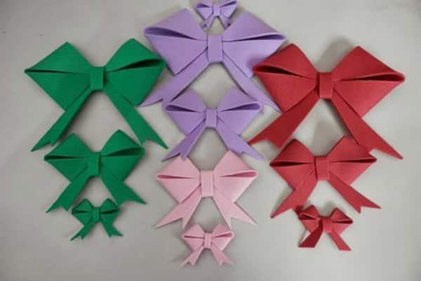 tamanhos diferentes laço 3D EVA