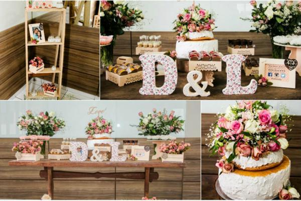 Inspirações para decoração de noivado